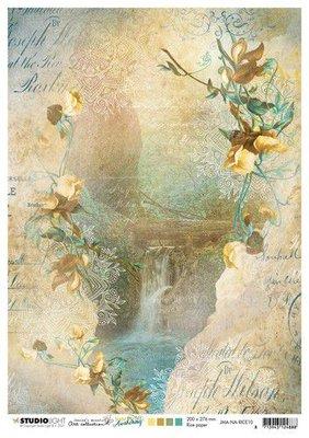Studio Light Rice Paper Jenine's New Awakening nr.10 JMA-NA-RICE10 A4  (06-21)