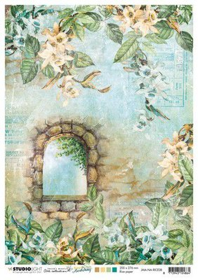 Studio Light Rice Paper Jenine's New Awakening nr.08 JMA-NA-RICE08 A4  (06-21)
