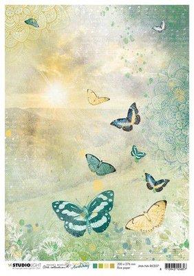 Studio Light Rice Paper Jenine's New Awakening nr.07 JMA-NA-RICE07 A4  (06-21)