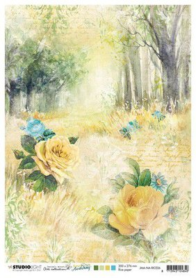 Studio Light Rice Paper Jenine's New Awakening nr.06 JMA-NA-RICE06 A4  (06-21)