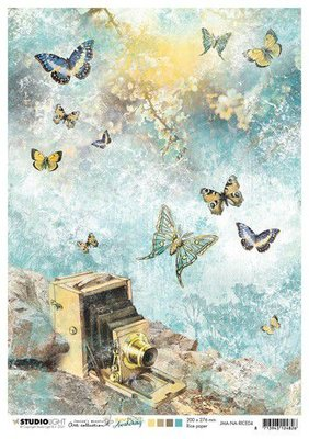 Studio Light Rice Paper Jenine's New Awakening nr.04 JMA-NA-RICE04 A4  (06-21)