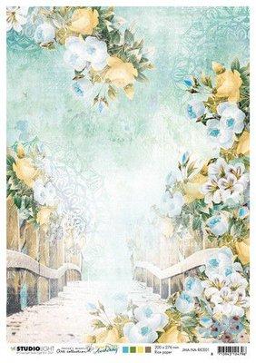 Studio Light Rice Paper Jenine's New Awakening nr.01 JMA-NA-RICE01 A4  (06-21)