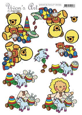 CD11693 3D Cutting Sheet - Yvon's Art - Baby Toys