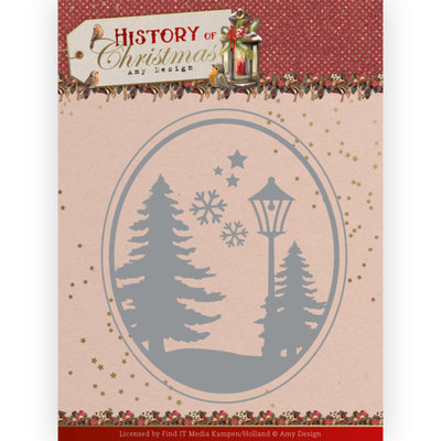 ADD10244 Dies -Amy Design - History of Christmas - Christmas Landscape