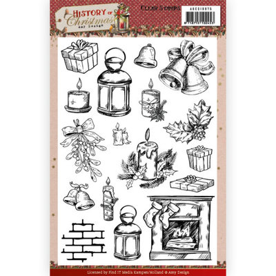 ADCS10075 Clear Stamps - Amy Design - History of Christmas