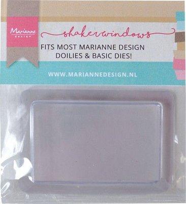 Marianne D Shaker windows - Rechthoek 5,7x9 cm - 10 st LR0039 (07-21)