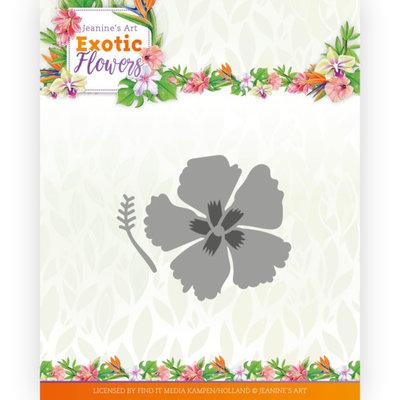 JAD10134 Dies - Jeanine's Art - Exotic Flowers - Exotic Hibiscus