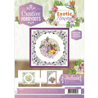 CH10016 Creative Hobbydots 16 - Jeanine's Art - Exotic Flowers