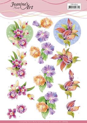 CD11625 3D Cutting Sheet - Jeanine's Art - Orchid