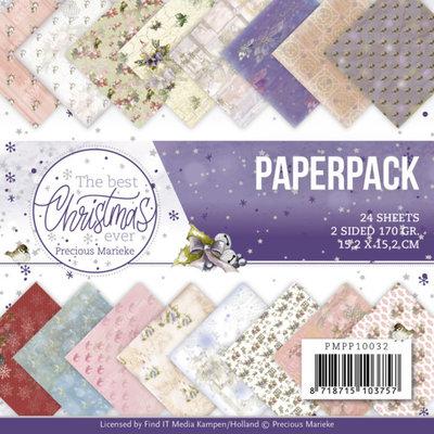 PMPP10032 Paperpack - Precious Marieke - The Best Christmas Ever