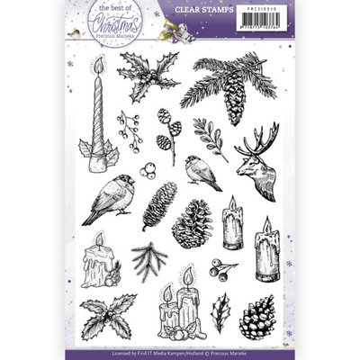 PMCS10049 Clear Stamps - Precious Marieke - The Best Christmas Ever