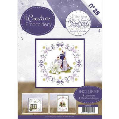 CB10028 Creative Embroidery 28 - Precious Marieke - The Best Christmas ever