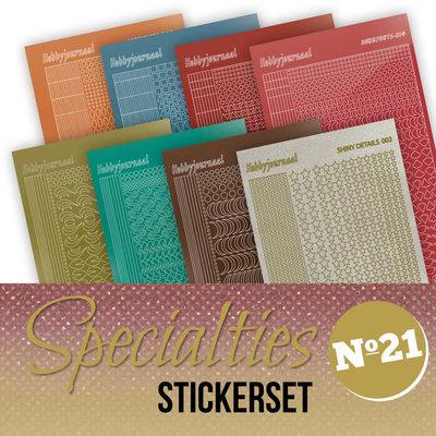 SPECSTS021 Specialties 21 Stickerset