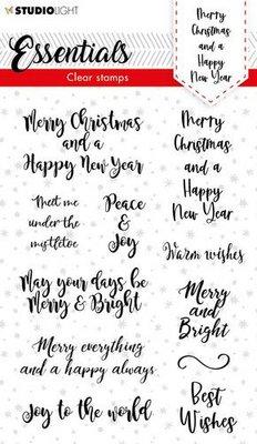 Studio Light Clear Stamp Christmas Essentials nr.88 SL-ES-STAMP88 A6 (08-21)
