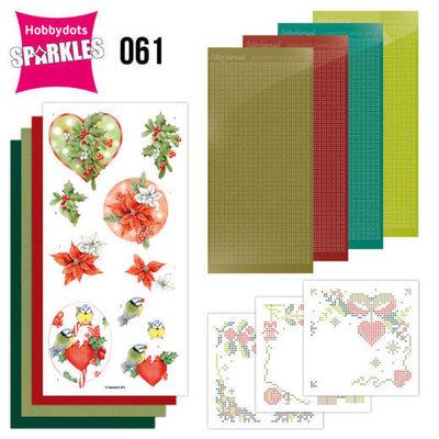 Sparkles Set 61 - Jeanine's Art - Red Berries