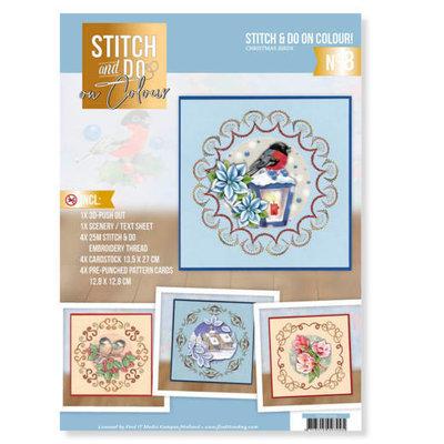 Stitch and Do on Colour 008 - Christmas Birds