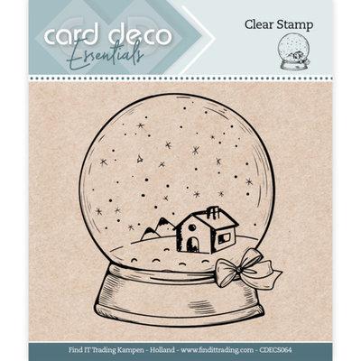 CDECS064 Card Deco Essentials - Clear Stamps - Globe