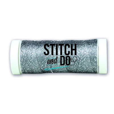 SDCDS19 Stitch and Do Sparkles Embroidery Thread - Steel