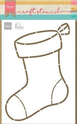 Marianne D Craft Stencil - Sok van Marleen PS8103 21x15cm (09-21)
