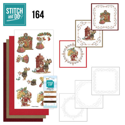 Stitch and Do 164 - Yvonne Creations - Have a Mice Christmas