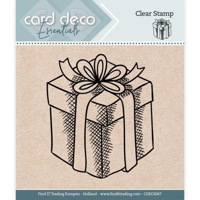 CDECS067 Card Deco Essentials - Clear Stamps - Presents