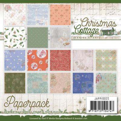 JAPP10022 Paperpack - Jeanine's Art - Christmas Cottage