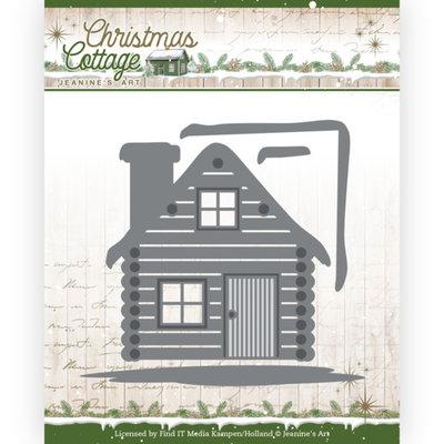 JAD10139 Dies - Jeanine's Art - Christmas Cottage - Cottage