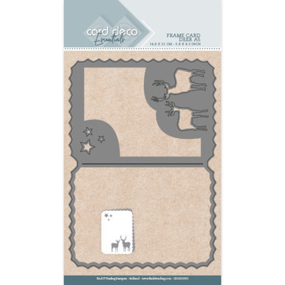 CDCD10053 Card Deco Essentials Dies - Deer A5