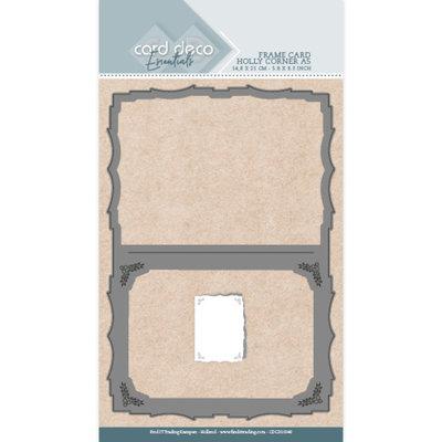 CDCD10049 Card Deco Essentials Dies - Holly Corner A5