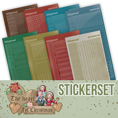 CHSTS019 Creative Hobbydots Stickerset 19 - Yvonne Creations - The Heart of Christmas