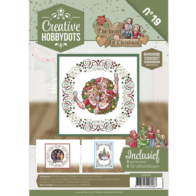 CH10019 Creative Hobbydots 19 - Yvonne Creations - The Heart of Christmas
