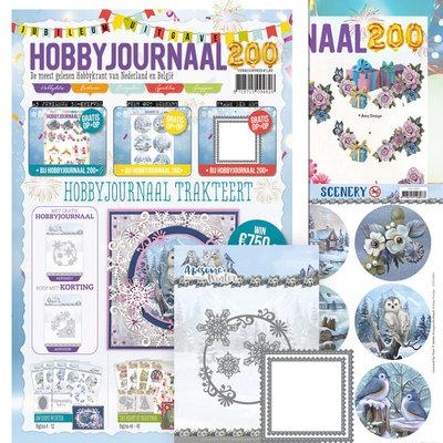 SETHJ200 -ADD10257 Hobbyjournaal 200 SET met mal ADD10257