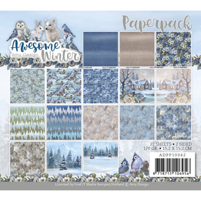 ADPP10042 Paperpack - Amy Design - Awesome Winter
