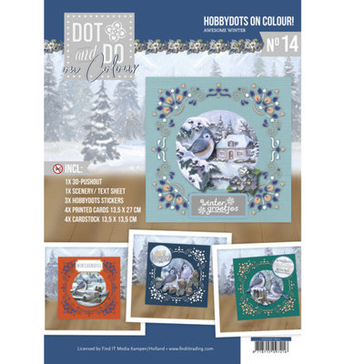 DODOOC10014 Dot and Do on Colour 14 - Amy Design - Awesome Winter