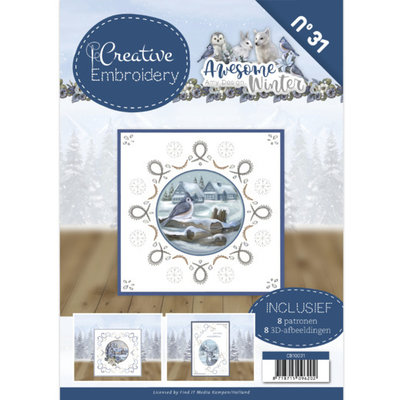 CB10031 Creative Embroidery 31 - Amy Design - Awesome Winter