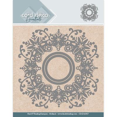 CDCD10057 Card Deco Essentials Aperture Dies - Snowflake Round