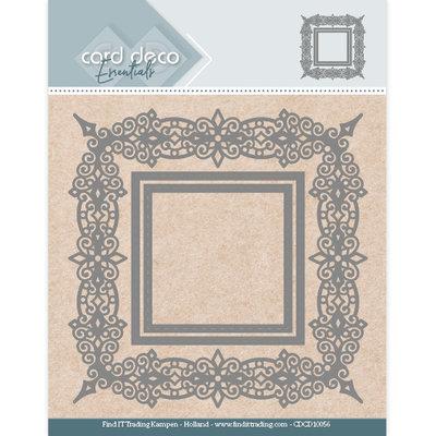 CDCD10056 Card Deco Essentials Aperture Dies - Swirls Square