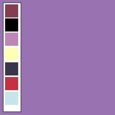 18 Card Deco Linnen A4 10 vel Violet 240grm