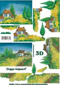 3D knipvel Le Suh 4169.484 Landschap A4