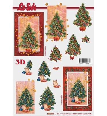 3D knipvel Le Suh 4169.930 Kerstboom A4