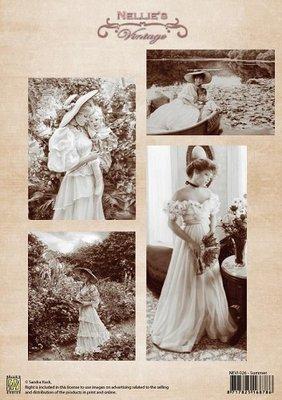 3D knipvel Nellie Snellen NEVI026 Vintage Summer