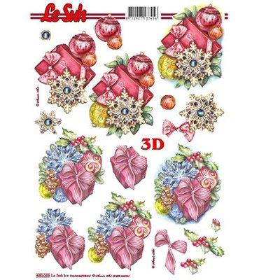 3D Uitdrukvel Le Suh 680.049 Kerst A4