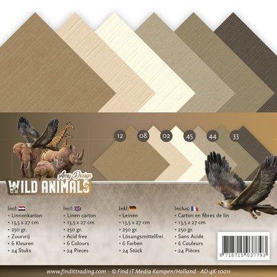 AD-4K-10011 Linnenpakket - 4K - Amy Design - Wild Animals