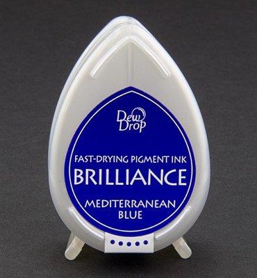 BD-18 - Brilliance Ink - Dew Drop - Mediterranean