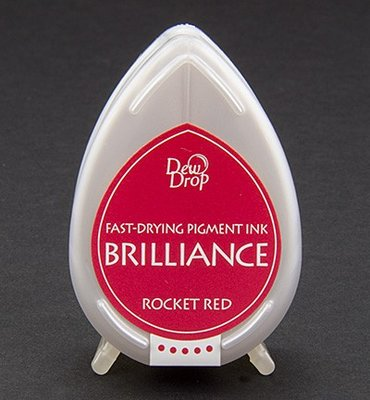 BD-23 - Brilliance Ink - Dew Drop - Rocket Red