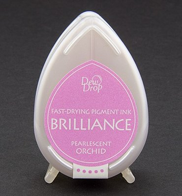 BD-34 - Brilliance Ink - Dew Drop - Pearlescent Orchid