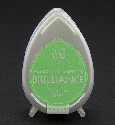 BD-42 - Brilliance Ink - Dew Drop - Pearlescent Lime