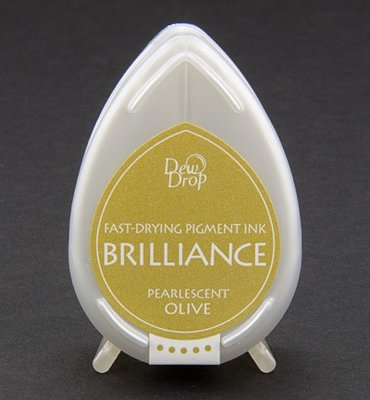 BD-53 - Brilliance Ink - Dew Drop - Pearlescent Olive