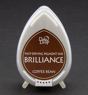 BD-54 - Brilliance Ink - Dew Drop - Coffee Bean