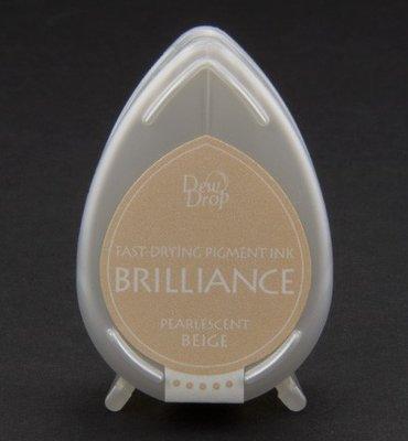 BD-55 - Brilliance Ink - Dew Drop - Pearlescent Beige